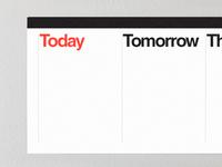 Compiti Stickable Task Calendar