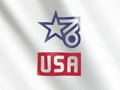 EST *76 flag tshirt independence july4
