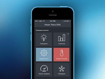 UI iphone ios icons app