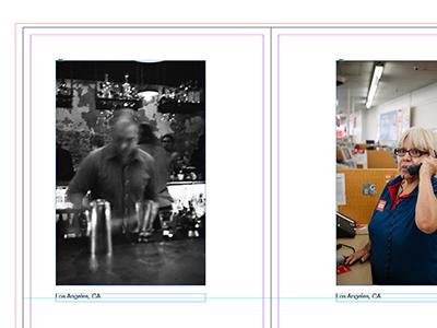 Finishing up. photobook