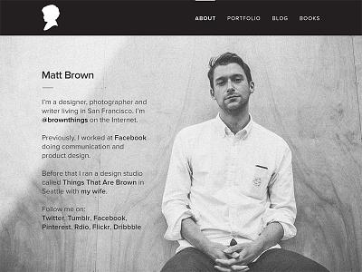 brownthings.com v2 domain identity portfolio