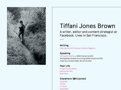 ticjones.com (alt) london design personal identity