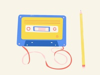 The Cassette and the Pencil