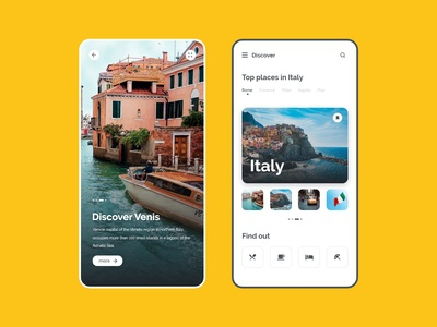 Discover places : Daily UI Design