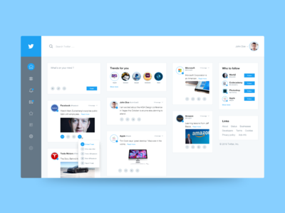 Twitter Redesign New Theme