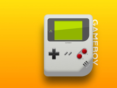 Gameboy Skeumorphic Design