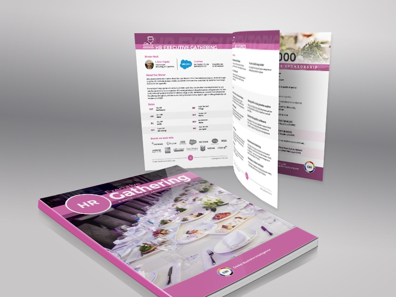 HR Event Brochure brochure design design print print design hr event brochure brochure