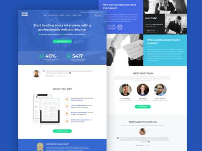 Resume Writer Director - Homepage