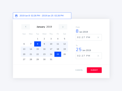 Date Time Picker Designs on Dribbble