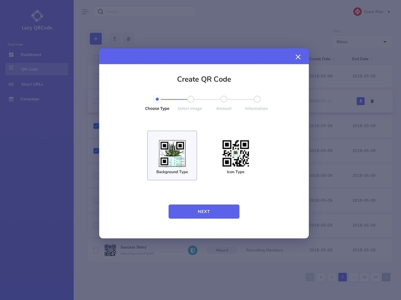 QR Code Generator - Choose Style by Anna Huang on Dribbble