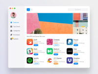 Appstore Redesign