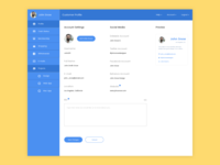 Dashboard Profile Freebie