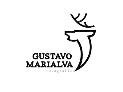 Gustavo Marialva deer photography photographer logo branding