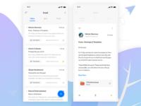 Mail App UI Concept