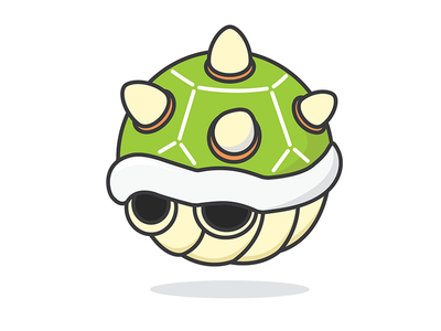 Round Bowser Shell