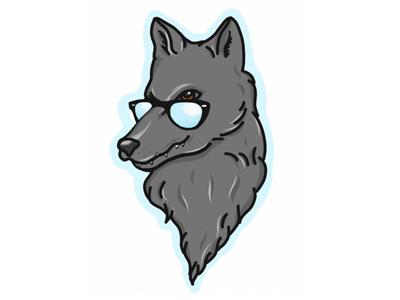 Wolf and Sun starks got sunglasses cool wolf