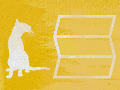 Make sure it's above the fold! illustration texture cat