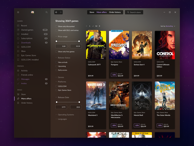 GOG GALAXY STORE - Catalogue.png