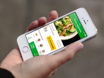 KucharzSam.pl mobile app mobile design ux app food ui ios