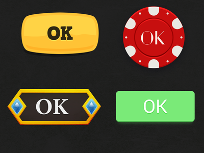 Some buttons practice exercise button buttons game ui ui