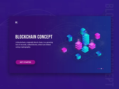 Blockchain Concept !!! Free PSD psd file free psd isometric currency crypto blockchain web app vector ux ui illustration
