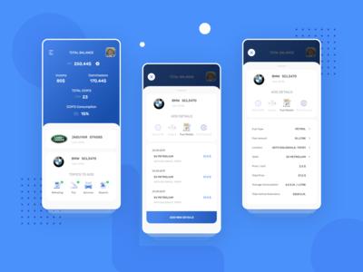 Car Repositories app UI Design