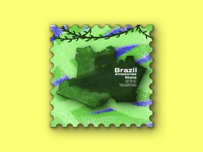 Amazonas State - Postage Stamp