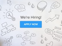 we're hiring doodle.