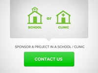 Sponsor a well in a school or clinic