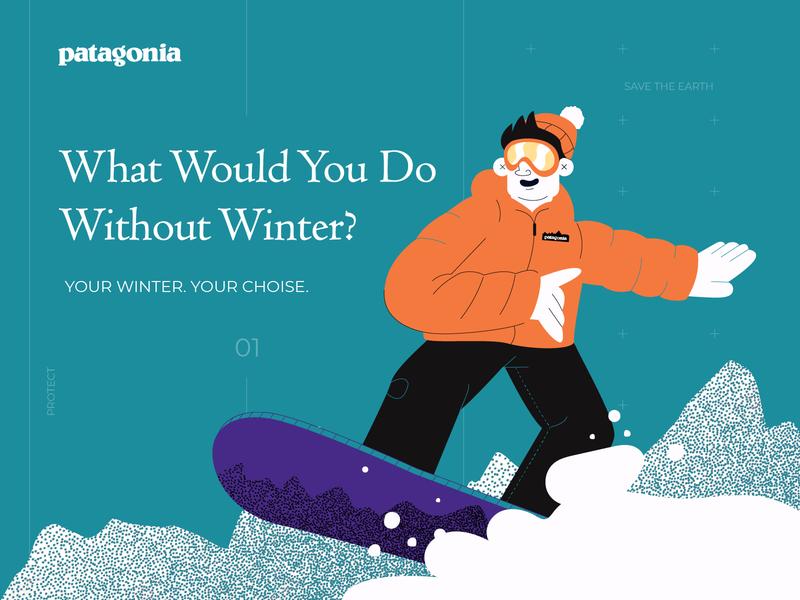 Patagonia jacket character hat winter snow snowman patagonia snowboard