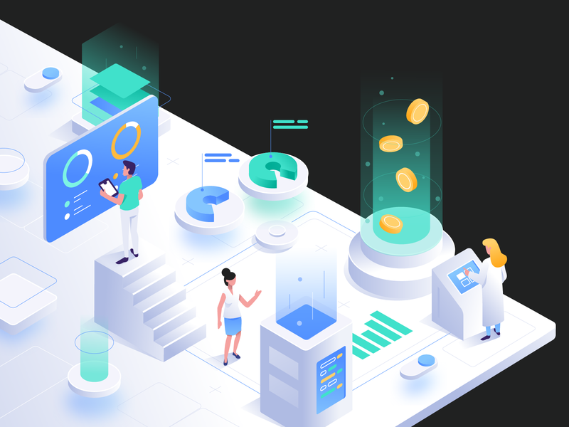 research isometric art coins server character isometry