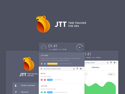 JTT – Time Tracker For JIRA jira software time tracker