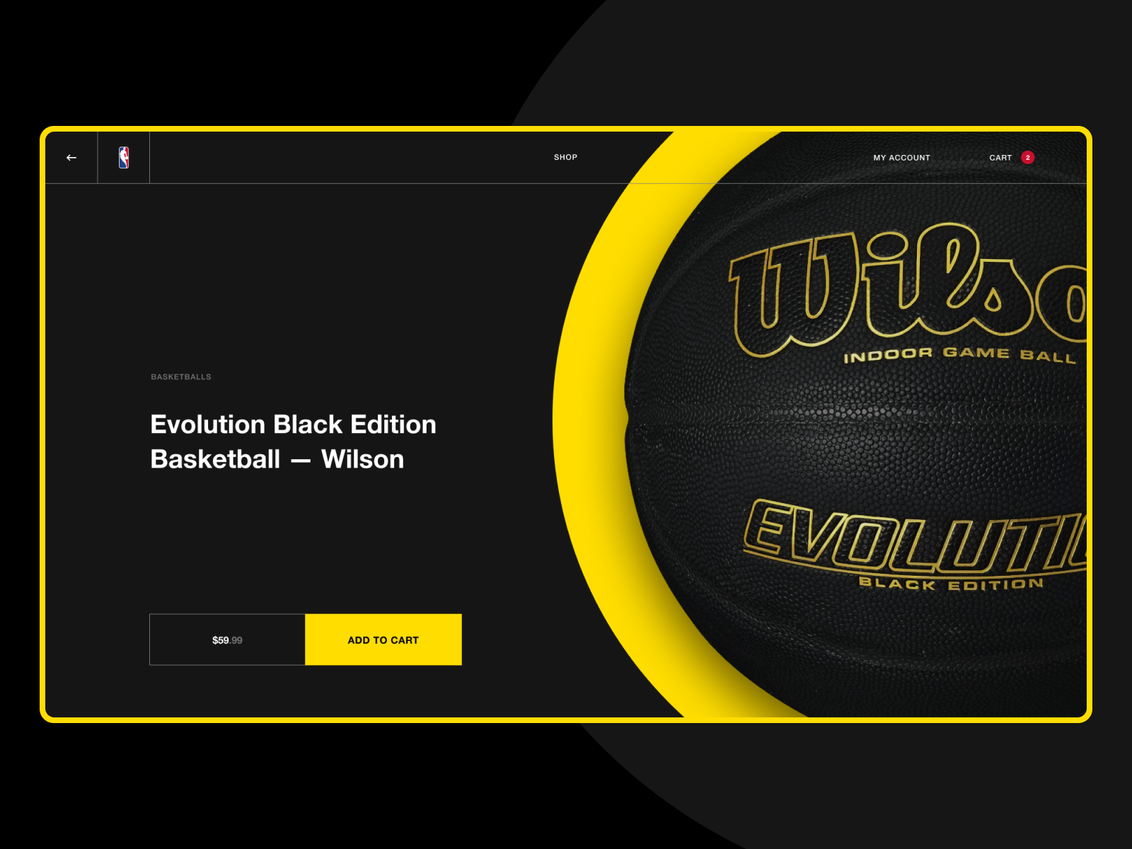 Nba store dribbble ball