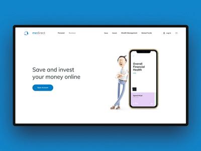 MeDirect Bank Concept