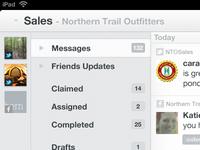 iPad App WIP Update