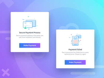 Illustrations empty state payment successful illustrations line icon payment failed payment illustration payment gateway