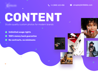Pricing Page photographers small businesses marketing place content marketing place beauty brands physical content content content creators brand owner influencer marketing