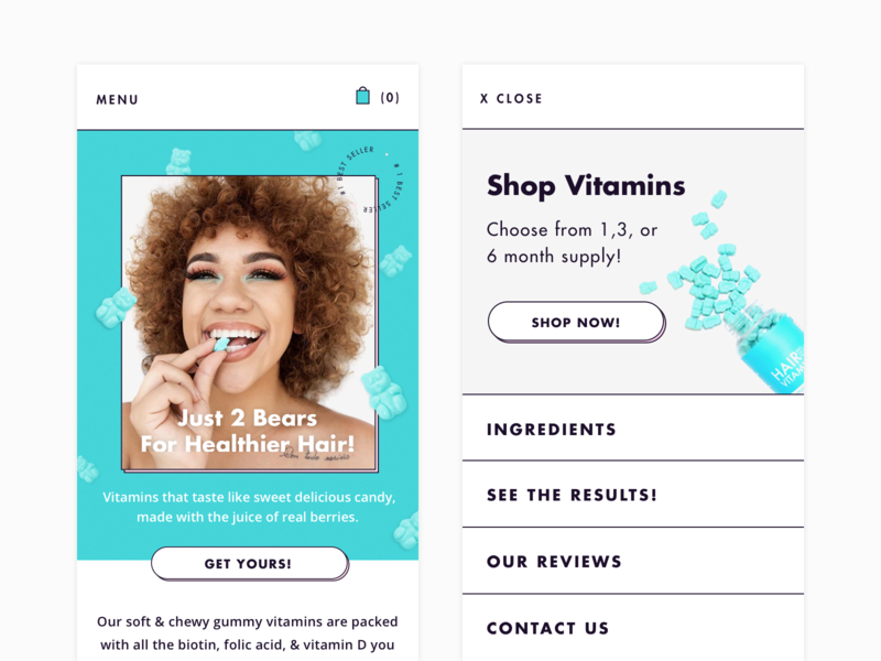UI | Mobile Homepage