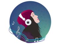 Music is like a dream...