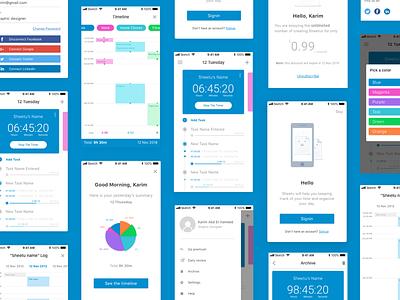 Sheetu App iphone ios flat app design sketch ui ux mobile application mobile app