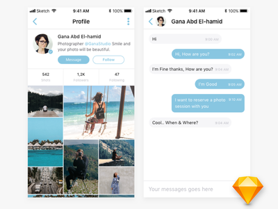 Shots app android ios iphone sketch ux instagram mobile application mobile app ui flat