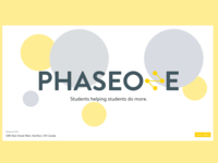PhaseOne | Logo, Tagline & Splash