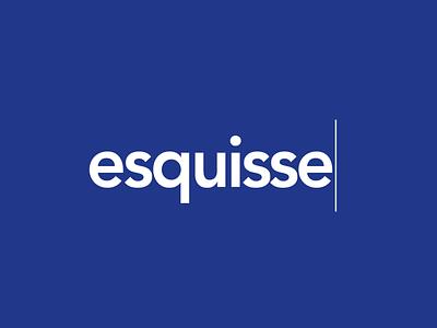 Esquisse - Logo proposal branding retail digital identity colors logo graphic design