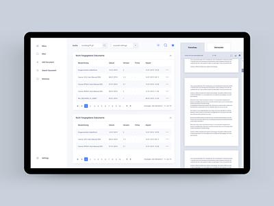 Document Management System dashboard ui dashboard design