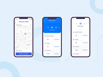 Delivery App ui app