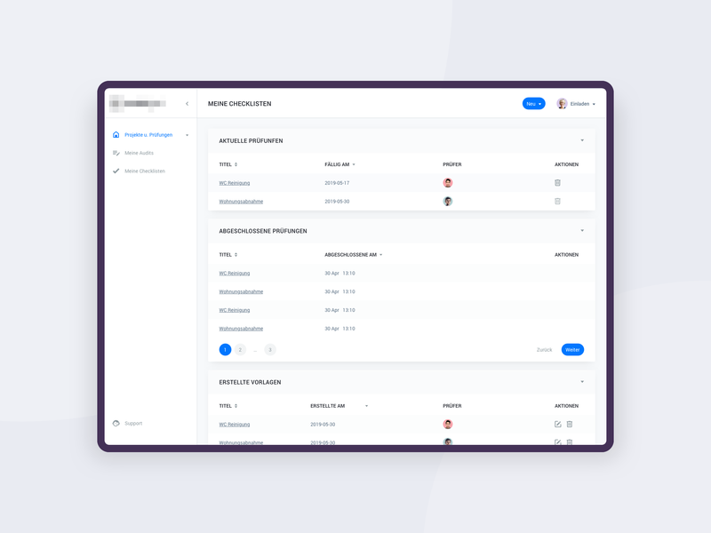 SaaS Insurance Dashboard dashboard ui