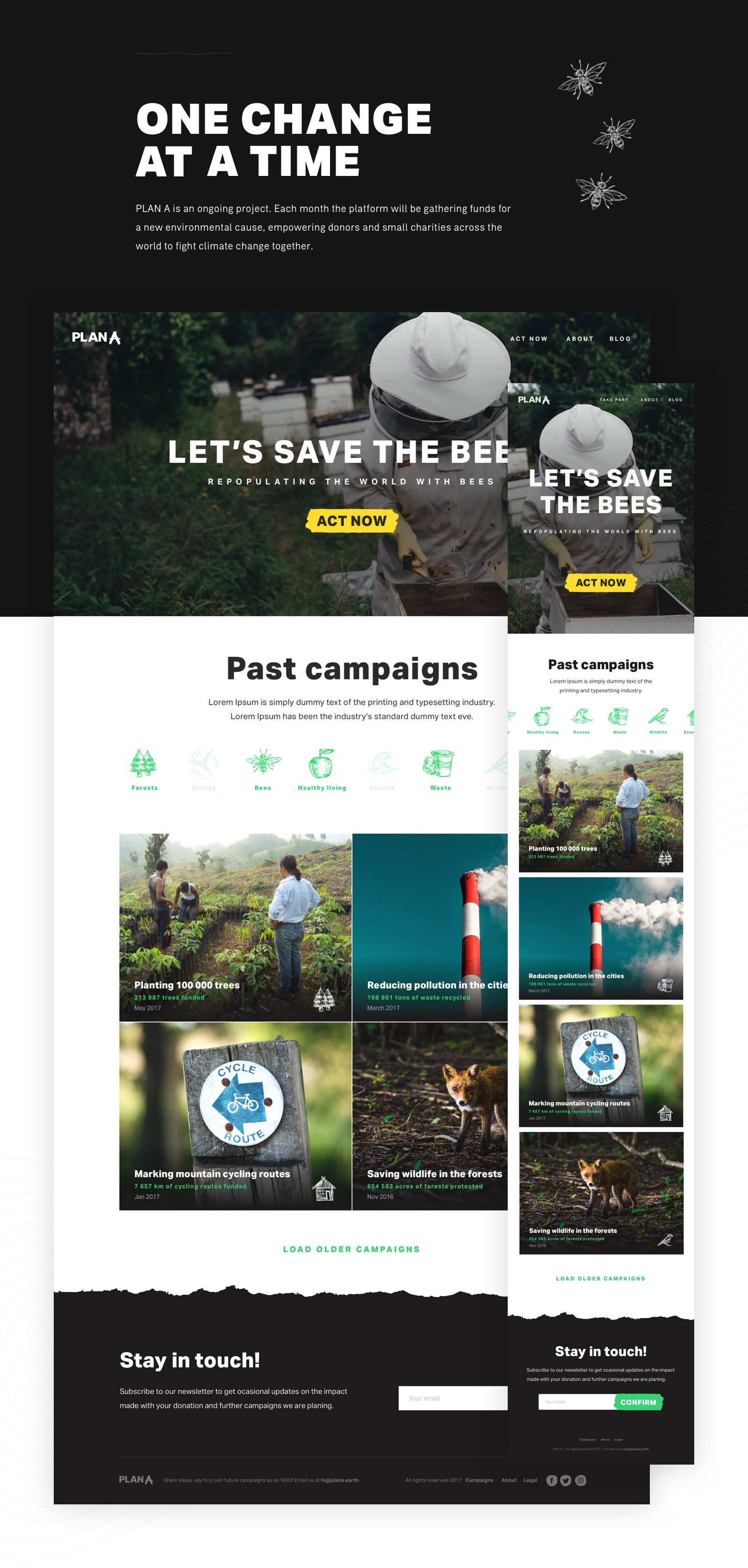 Plana bees campaign preview