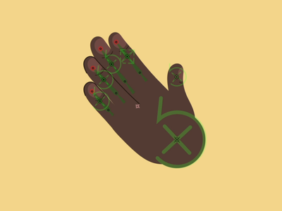 Hand Rig WIP after effects mograph