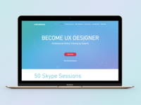xAcademy - Become UX Designer. We are live now!