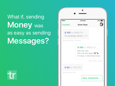 What if sending money was as easy as...